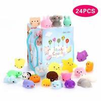 24Pcs Mochi Squishy Toys, Mochi Kawaii squishies Toys