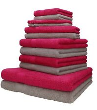 Betz 12er Handtuch Set Handtücher Duschtücher PALERMO 100% Baumwolle