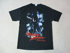 Michael Jackson King Of Pop Concert Shirt Adult Large Black Singer Music Tour