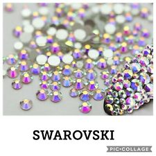 50 Swarovski AB Holographic Crystals. Nail Art Decor. Amaizing shine!!!! 1.3mm