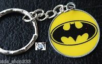 DC Comics BATMAN LOGO Justice League Movie Metal PC Key chain cosplay gift