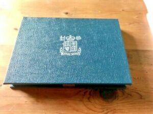 1984 ROYAL MINT UNCIRCULATED UK PROOF COIN SET SCOTTISH £1 - 1/2 PENNY
