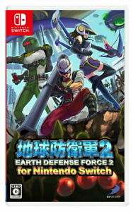 Earth Defense Force 2 for Nintendo Switch Video Games Japanese Tracking# NEW