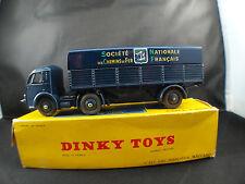 Dinky Toys F n° 32AB Panhard semi-remorque SNCF en boîte
