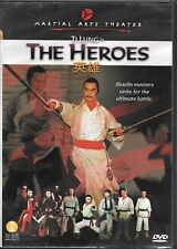 The Heroes (DVD) Tai Seng Rare OOP Martial Arts Movie, Ti Lung, Chan Wai Man