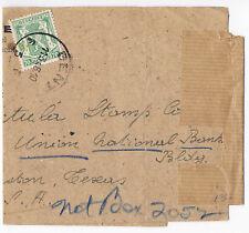 Belgium 1910 Publitimbre Stamp Journal Advertising Wrapper Gent - Texas Usa