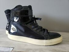 LANVIN High Top Sneakers Black size: us 10