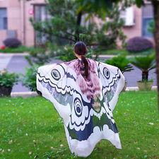 Women Vintage Long Butterfly Wing Cape Ladies Scarf Wrap Shawl Dres Scarves R9U9