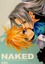 Final Fantasy 7 VII Doujinshi Comic Book Sephiroth x Cloud Naked / KIKI