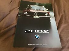1975 Bmw 2002 Usa Market Market Color Brochure Prospekt