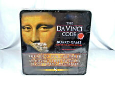 The Da Vinci Code board game in tin box based on the book/movie 2006