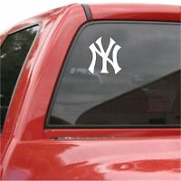 🔥 New York YANKEES Logo Vinyl Car Truck DECAL  Window STICKER Graphic NY