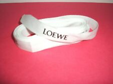 "100% Authentic Loewe Logo White Gift Wrapping Ribbon - (1) pc.100"" inches long"
