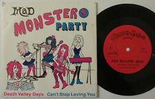 "MAD MONSTER PARTY ""DEATH VALLEY DAYS"" 1988 POWER POP GIRL GROUP W/PICTURE SLEEVE"