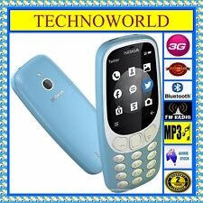 UNLOCKED NOKIA 3310 CLASSIC+3G+BLUETOOTH+FM+CAMERA+TWITTER+FACEBOOK+FM+MP3+GAMES