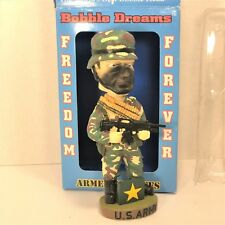 US ARMY Corp Freedom Forever Bobblehead Bobble Dreams Armed Services NIB MINT