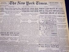 1945 MAY 27 NEW YORK TIMES - TOKYO LAID WASTE BY B-29'S FIGHTERS - NT 351