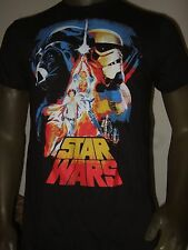 Mens Med Star Wars The Force Awakens Darth Vader Storm Trooper R2 C3po Shirt