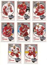 Steve Yzerman 10-11 Upper Deck 1 Hockey Heroes Set of 8