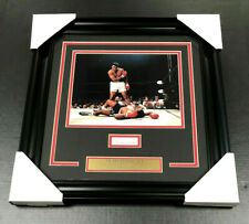 Muhammad Ali AUTHENTIC Autographed Signed CUT Framed 8x10 Photo PSA COA q08691