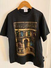Vntg 1988 80s Led Zeppelin Concert tour T Shirt black Size L physical graffiti.