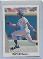 FRANK THOMAS 1990 LEAF ROOKIE CARD #300 CHICAGO WHITE SOX MINT