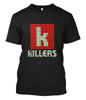 New THE KILLERS Rock Band Logo Rare Design Men's Black T-Shirt Size S to 5XL