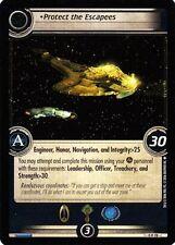 Star Trek CCG 2E Promo Protect The Escapees FOIL 0P78
