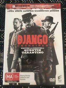 Django Unchained Jamie Fox Leonardo DiCaprio Quentin Tarantino New Free Post R4