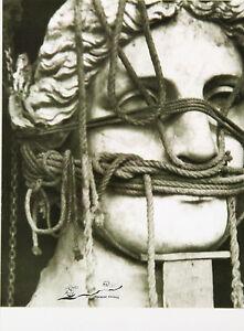 Kunstpostkarte  Bauhaus - Max Pfeiffer-Watenphul, Römischer Kopf