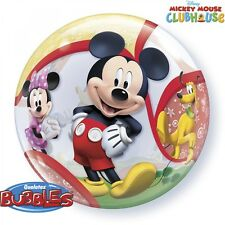 """MICKEY MOUSE CLUBHOUSE""     Mickey Mouse 56cm Bubble Balloon!"