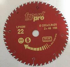 Freud LP40M022 235x2,8x25 Pro Ind Lama Circolare per macchine portatili