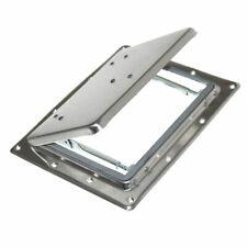 1 Metall Klappe Ausstellfenster Dachluke Lüftungsklappe Luke Umbau Wohnmobil NEU