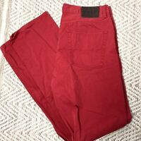 Polo Ralph Lauren Red Jeans 5 Pocket Pants Men's 34 X 34