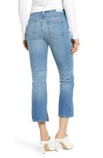 NWT AG Adriano Goldschmied Jeans Jodi Crop High-Rise Slim Flare 29/13Y Awestruck
