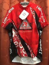 L NWT Primal RED RIDER Tour de Cure NJ AMERICAN DIABETES Assoc. Cycling Jersey
