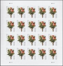 US 5199 Celebration Boutonniere forever sheet (20 stamps) MNH 2017