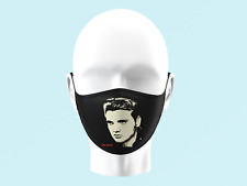 Elvis Presely The King Legend Face Mask Personalised Kids Adults Washable 0053