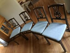 Vintage Stakmore Folding Chairs 4 Harp Back Set—-2 Other Style