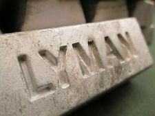10# Lot, Linotype lead ingots, Lyman 1# each, casting, alloying, reloading