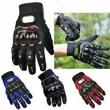 Motorcycle Motorbike Pro Biker Cross Racing Scooter Carbon Knuckle Gloves M-XXL
