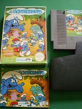 Nintendo NES Les SCHTROUMPFS Complet PAL B FRA