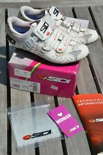 Sidi Genius 7 women's White road cycling shoe Carbon - size 41 euro or 8-8.5 US