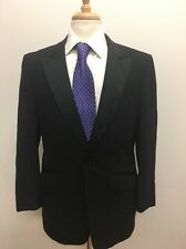 $346 Lord West Men's USA Made Classic Black Formal Tuxedo Suit Size 42R 34x29