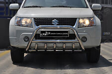 Suzuki Grand Vitara Chrome Essieu Coup A-Bar Acier Inoxydable Pare-Buffle