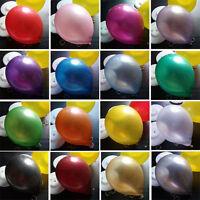 "100 - 10"" PLAIN BALONS BALLONS helium BALLOONS Quality Birthday Wedding BALOON m"