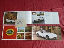 N°4496 / LOTUS : catalogue english text   coupé +2S  130