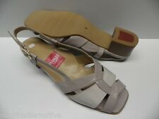 Chaussures ouvertes HASLEY candy gris beige FEMME taille 39,5   -Modèle d'Expo-