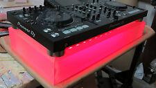 FOR Pionner DJ XDJ-RX Custom made/Frosted Acrylic/plexiglass LED platform/base