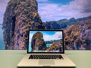 Apple MacBook Pro 15 inch Laptop   QUAD CORE i7   512GB SSD   Retina   Warranty